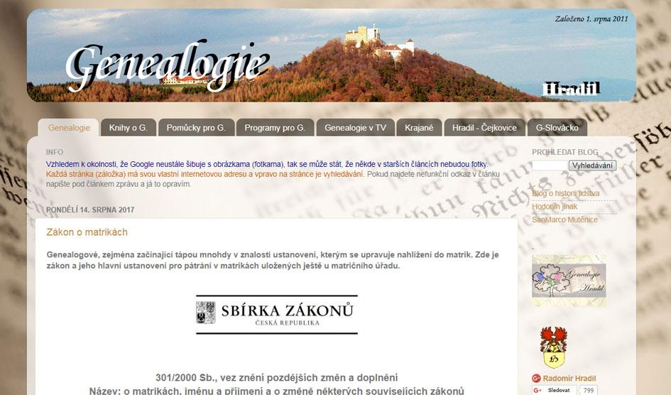 Online místopisné weby